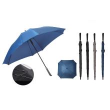 Long Stick Auto Open Fiberglass Golf Umbrella Wind Resistant