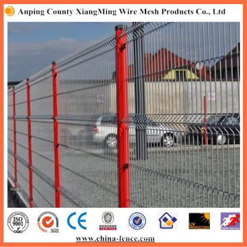 Esgrima de metal decorativo Paneles de cerca de seguridad Esgrima de seguridad Cerca de metal de jardín