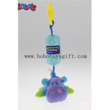 Супер Cute Плюшевая коляска Hippo для колясок подвесных игрушек Многофункциональная для детей Детская кроватка