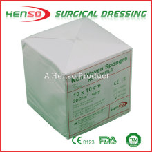 HENSO Surgical Absorbent Gauze Non-Woven Swabs