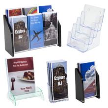 Wholesales Customized Photo Frame Magazine Acrylic Display Box