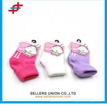 Chaussettes pour enfants en coton doux
