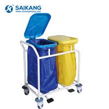 SKR-WC561 Hospital Stainless Steel Utility Nursing Trolley