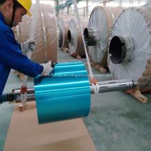 Papel de aluminio revestido hidrófilo del refrigerador colorido