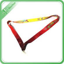 Ruban de médaille d'article de souvenir bon marché de matériel de polyester de produit fait sur commande