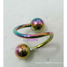 new fashion circular barbell nose ring body nose ring jewelry