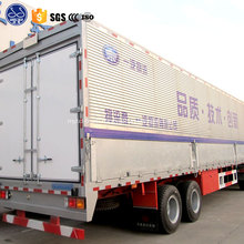 wing van semi trailer