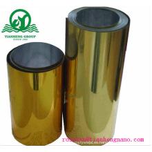 Película rígida de PVC metalizado oro y plata para la bandeja Buscuit