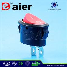 Daier Oval 10A 125VAC Wippschalter
