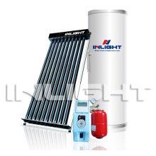 Split Heat Pipe Pressurized Solar Water Heating System