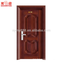 hot sell steel men door design fire rated door with hinge