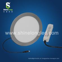 A fábrica de Shenzhen 4 polegadas 120mm 5W superfície montou a luz de painel conduzida redonda