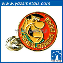custom high quality Yabba Dabba Doo! lapel pin/pin badge