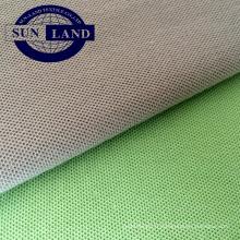 tissu de coton piqué de polyester pour l'uniforme de vêtements de sport d'été