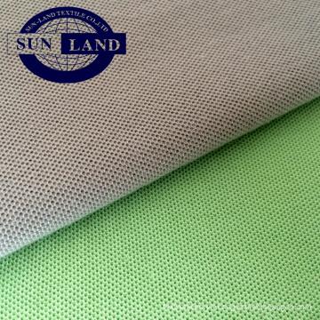 50% poliéster 50 tejido de piqué de algodón para uniforme deportivo de verano 100% poliéster malla fresca para uniforme deportivo de verano