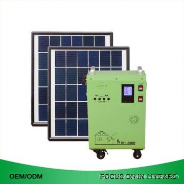 5Kw auf 5000W 3KW Heimgebrauch 500W Portable Off Grid Solar System