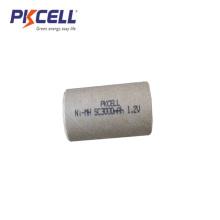 Chaqueta de papel NiMH Sub C tamaño 1.2V 3000mAh batería recargable