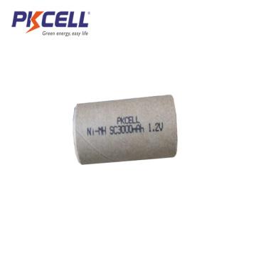 Paper Jacket NiMH Sub C size 1.2V 3000mAh Rechargeable Battery
