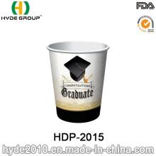 Double paroi jetables en papier café tasse en gros (HDP-2015)