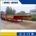 China Hoher starker Stahl 40ft Flachbett-halb Anhänger für Verkauf