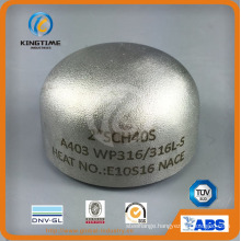 Pipe Fitting Stainless Steel 304/304L Cap with ISO9001: 2008 (KT0292)