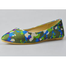 Colorful Female / Womens Ballerina Flats Convenient For Shopping