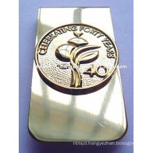 Customized Plating Gold Money Clip