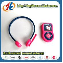 Popular fone de ouvido engraçado com brinquedo MP3 para crianças