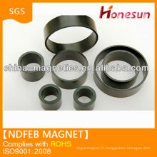 N35 Strong sintered rare earth epoxy coated big ring ndfeb magnets