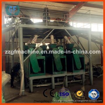 Linha de Produção de Granulação de Fertilizantes Químicos de Sulfato