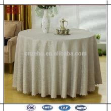 Custom Made High Quality Luxurious Jacquard Wedding Table Cloth