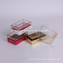 luxury paper window perfume box paper perfume gift box for women