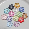 Hot Selling 20MM Colorful Blossom Flower Beads