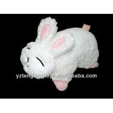 Симпатичная и симпатичная кролика сформированная складная игрушка плюша плюша