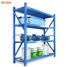 medium duty boltless steel storage long wide shelf