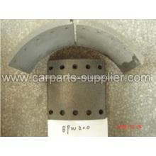 Garniture de frein BP400 d'amiante