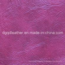 Top Selling Semi-PU Furniture Leather (QDL-51105)