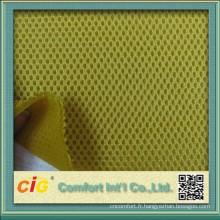 Tissu de maille 3D Spacer Air Mesh tissu/sandwich pour couverture de siège de moto