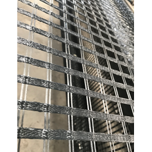 Polyester Biaxial Geogrid สำหรับการเสริมแรง