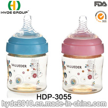 Safety PPSU BPA Free Plastic Baby Feeding Bottle, 240ml Plastic Baby Feeder Bottle (HDP-3055)