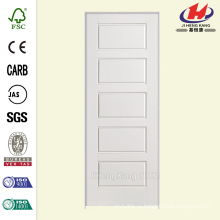 28 дюймов x 80 дюймов. Solidoor Riverside Smooth 5-Panel Equal Solid Solid Primed Composite Single Prehung Внутренняя дверь