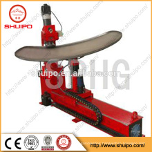 Hydraulic dish end flanging machine , dish head flanging machine