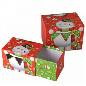 Hot Sale Christmas Gift Packaging Lade Box