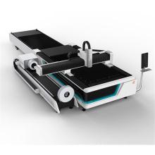 Machine de découpage de commande numérique par ordinateur d'acier inoxydable de laser de fibre