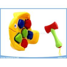 Puzzles Blocks Toys Plastic Toys Fish Educational Toys