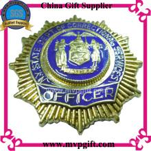Metall 3D Abzeichen für Polizei Verwendung