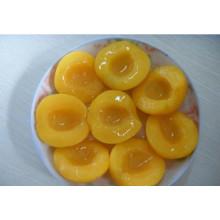 Pêssego amarelo enlatado em alta qualidade