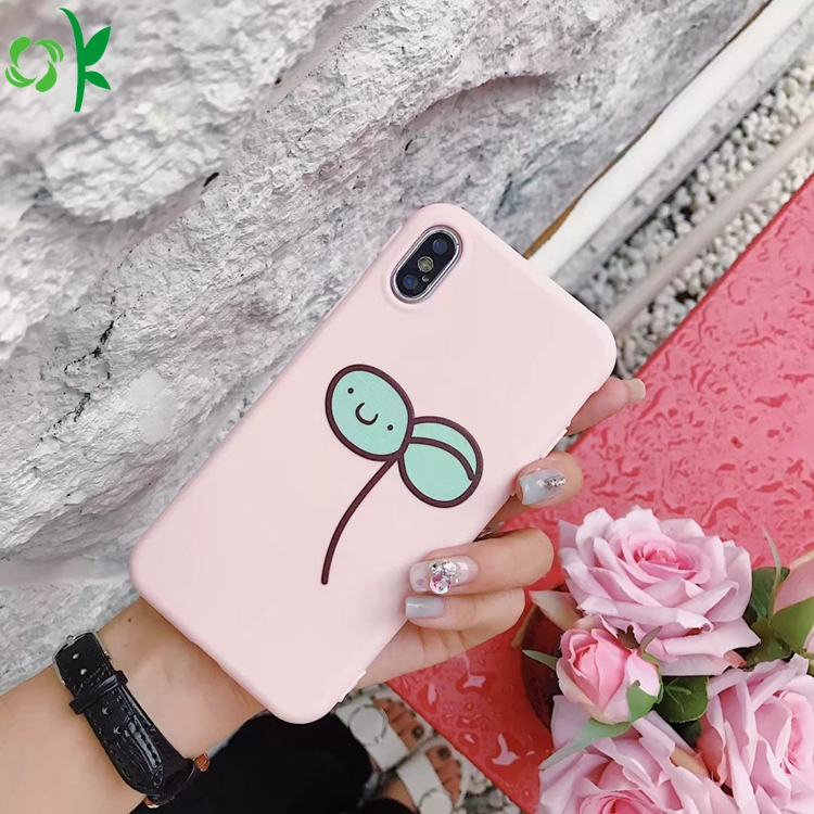 Printed Silicone Phone Case