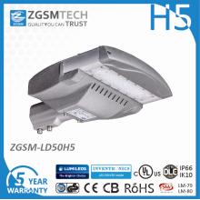 Luz de estrada de rua LED 50W com Philips Lumileds 3030