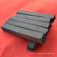 Briquete de serragem de madeira natural carvão carvão briquete de serragem sem fumaça de carvão